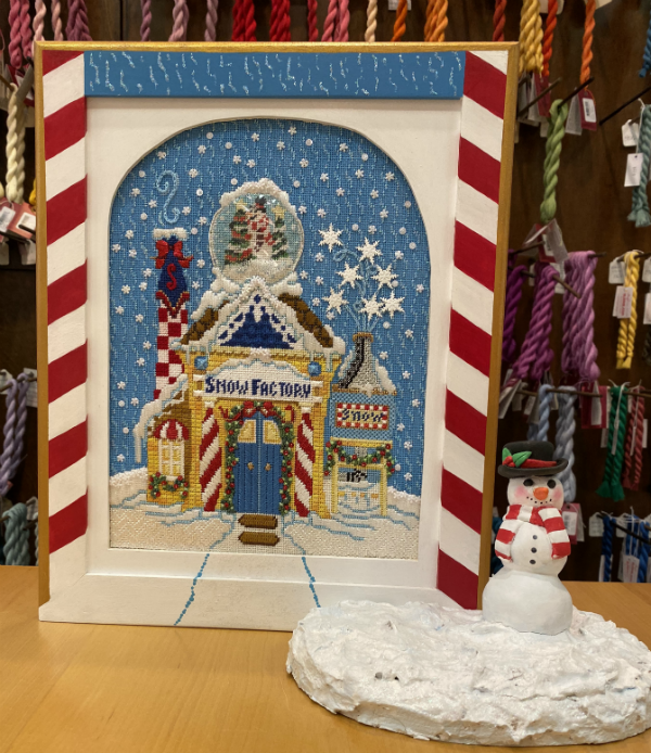 June McKnight's Snow Factory from Strictly Christmas