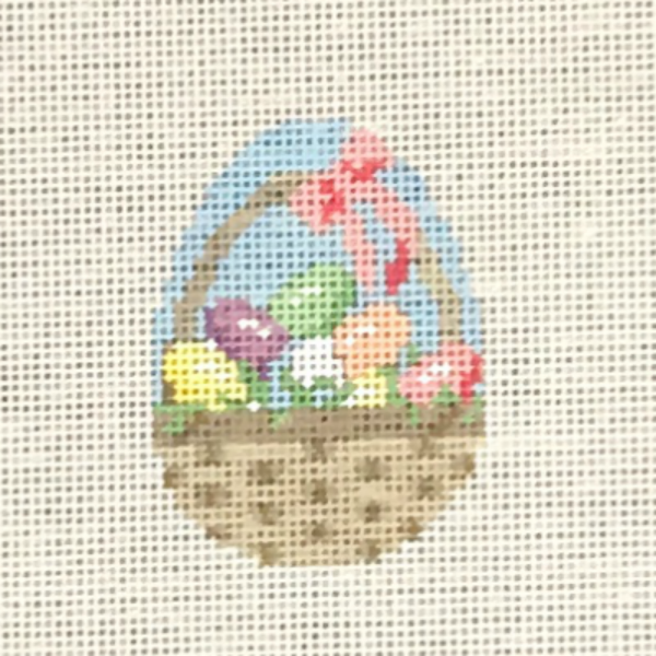 Basket Easter Egg small from Susan Roberts
