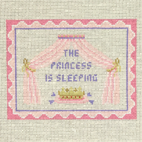 Princess Sleeping sign from Susan Roberts