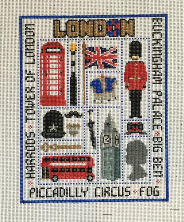 London Sampler from Susan Treglown