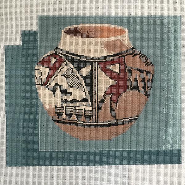Indian Pot by Susan Treglown