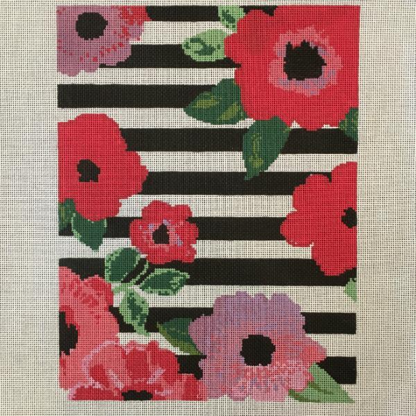 Striped Flower Bag from Voila!