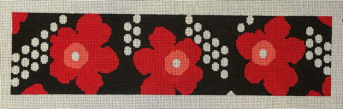 Red Floral with Dots Strap from Voila!
