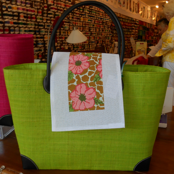 Voila Green Tote Bag