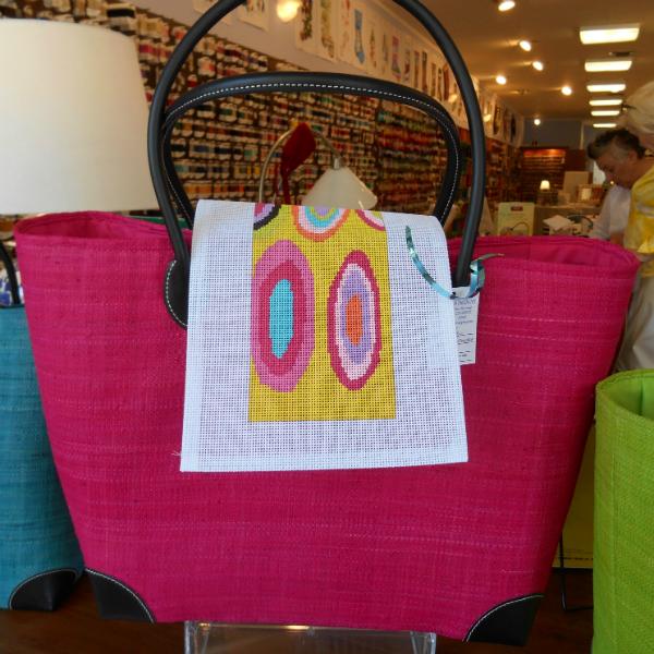 Voila Pink Tote Bag