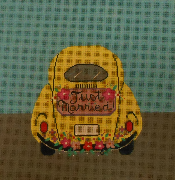Just Married - VW Bug from Alice Peterson