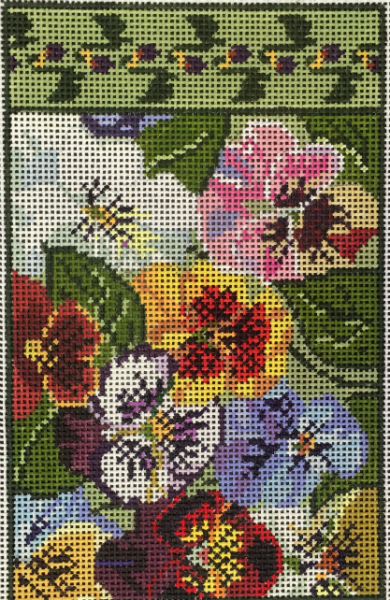 Pansy Needle Case by Whimsy & Grace