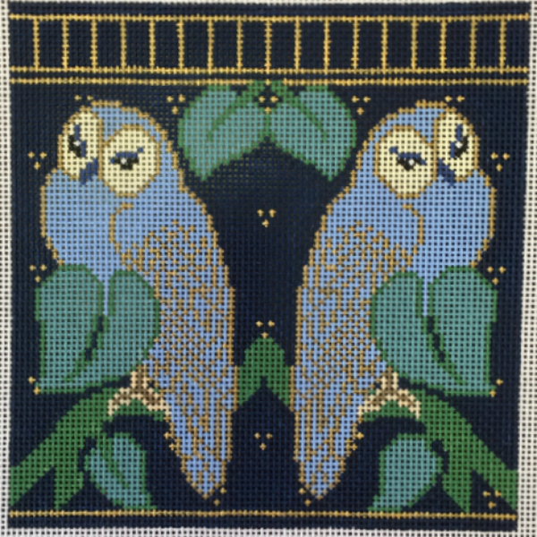 Charles' Blue Owls by Whimsy & Grace
