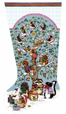 Woodland Stocking by Melissa Shirley
