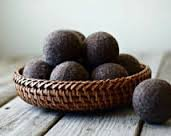 100% Wool Dryer Balls - 6 Dark