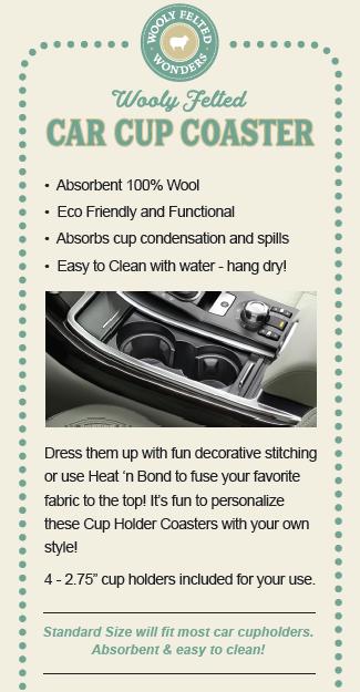 Car Cup Coasters