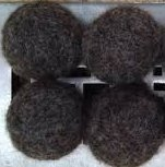 100% Wool Dryer Balls - 4 Dark