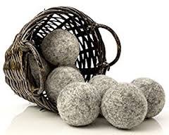 100% Wool Dryer Balls - 2 Dark 2 Gray