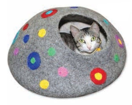 Dots To You! Cat Cave
