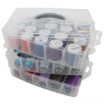 Thread Storage - Large, 3 layers with handle, 30 spools