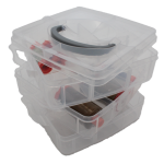 Thread Storage - Medium, 3 layers with handle, 18 spools