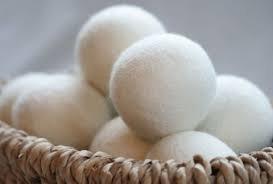 100% Wool Dryer Balls - 6 Light
