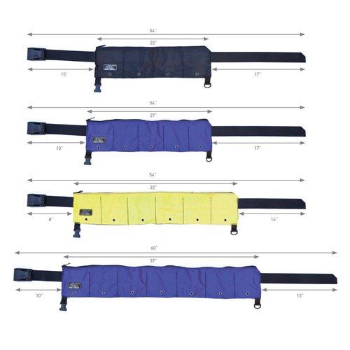 Soft Zippered Weight Belt by XS Scuba