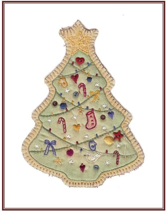 Vintage Christmas Ornaments BOM!