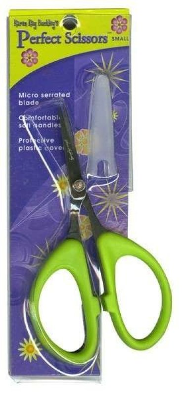 Karen Kay Buckley - Perfect Scissors - 4 inch Small Green - KKBPSS