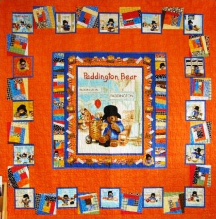 Paddington Bear Quilt Fabric - The Best Famous Quilt 2017 : paddington bear quilt - Adamdwight.com