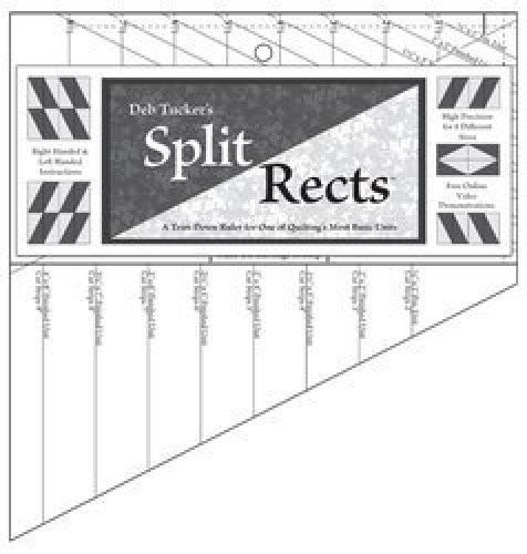Studio 180 - Deb Tucker's Split Rects Ruler