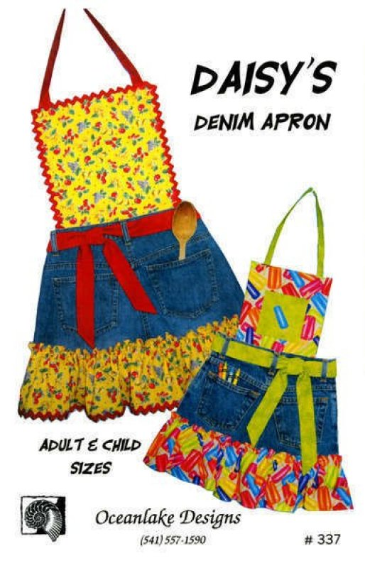 Daisy's Denim Apron