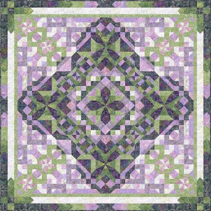 Jade Garden Batik BOM - Includes Backing!