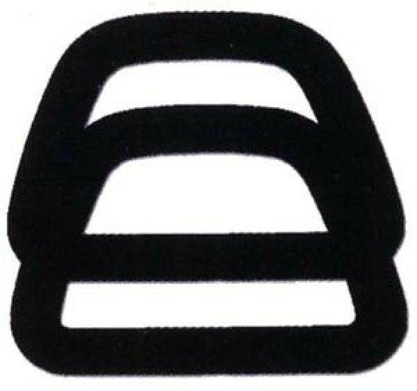 Clover - Bags & Totoes - D Shape Handle - CBT23 Black
