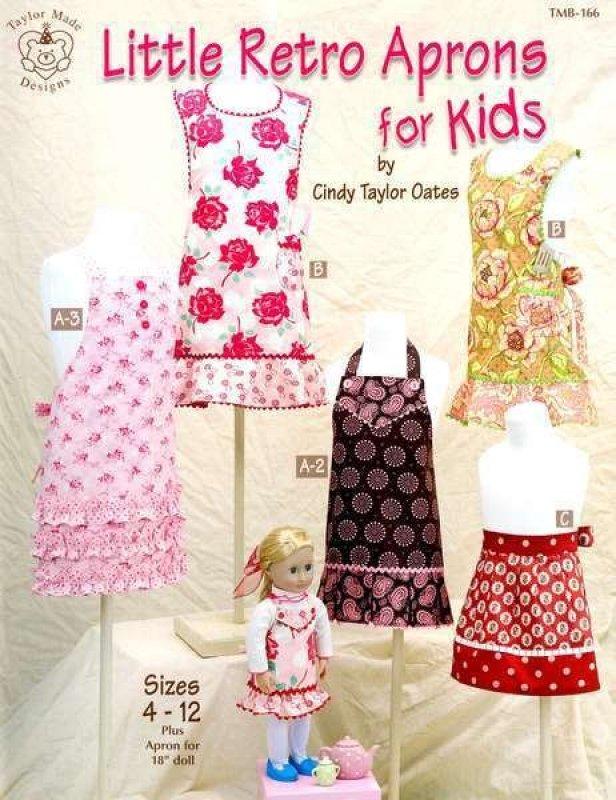 Little Retro Aprons for Kids - TMB166