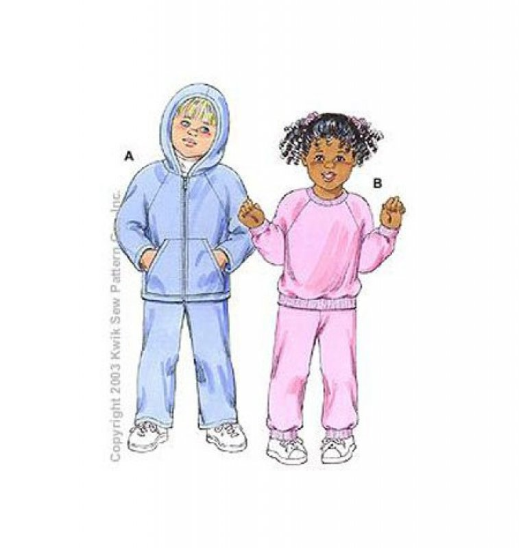 Kwik Sew - 3150 - Toddlers Shirts and Pants