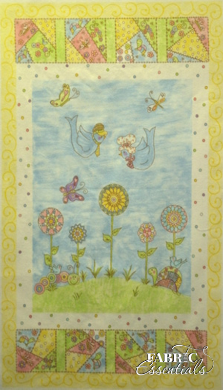 Troy - Riverwoods - All A Twitter - FLANNEL Panel - 23in x 44in - TRO-1370