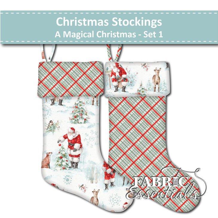 A Magical Christmas - Christmas Stockings - Set 1
