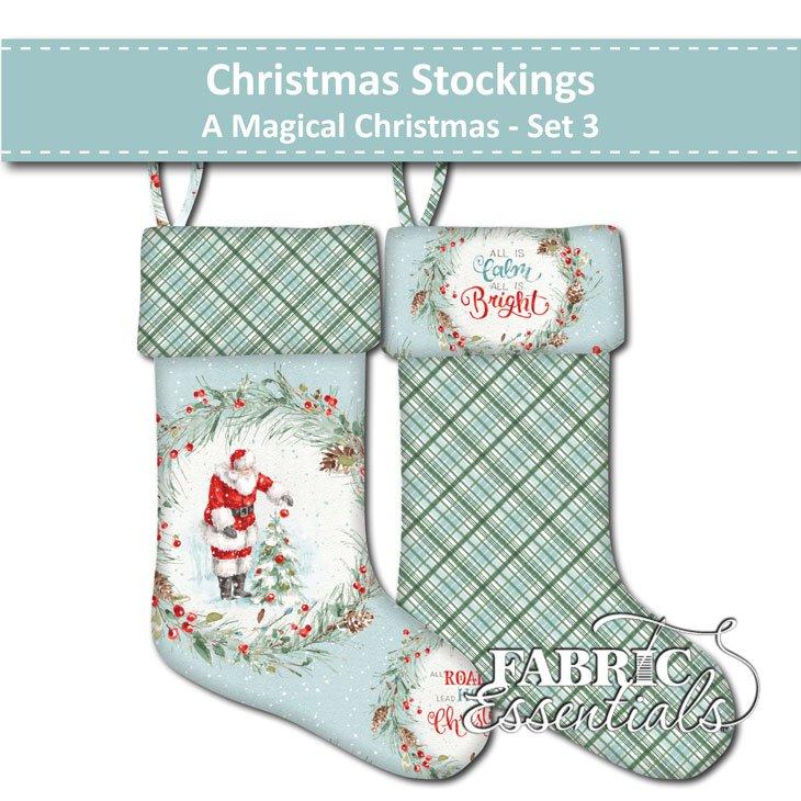 A Magical Christmas - Christmas Stockings - Set 3