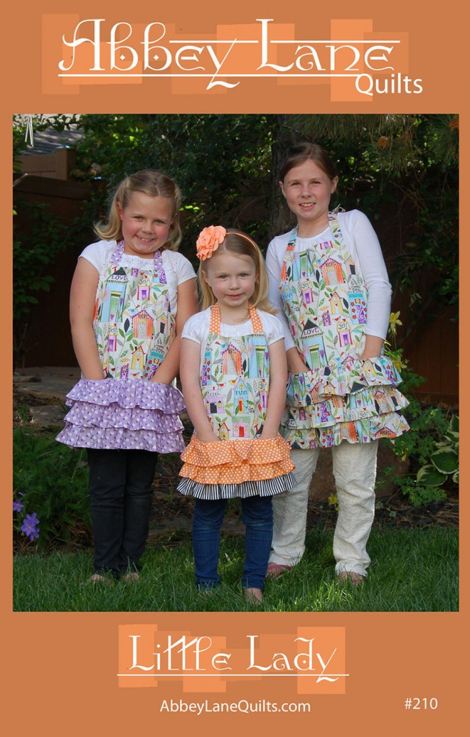 Little Lady - Children's Apron in 3 Sizes!