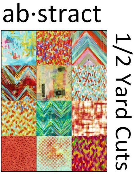 ColorStack - Abstract - Bundle - 12 Half-Yard Cuts