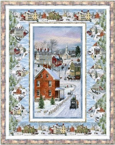 After the Snow Quilt KIT!