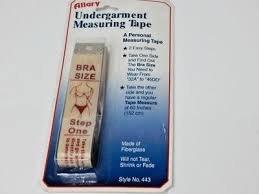Allary - Undergarment Measuring Tape - A443