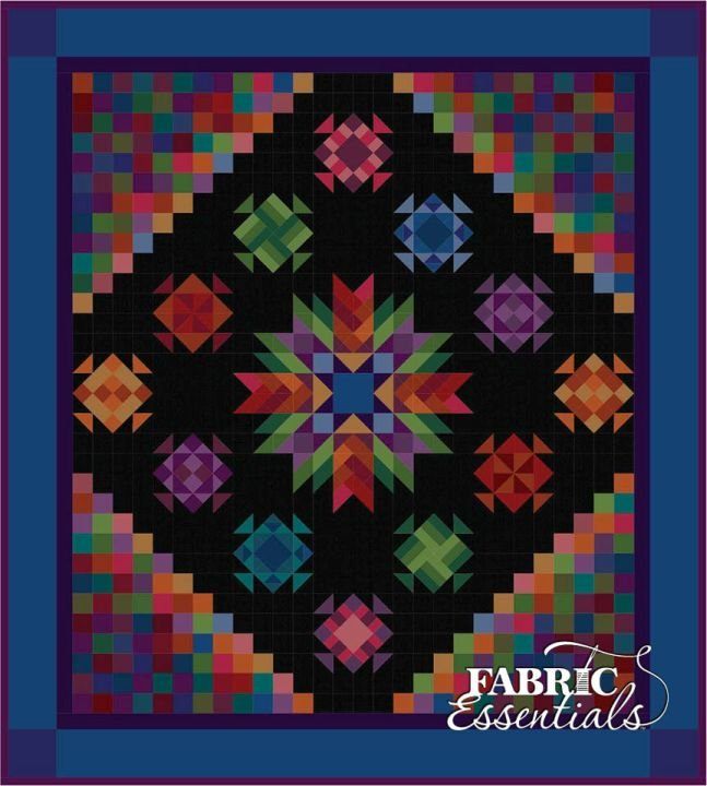 Amish With A Twist IV BOM Quilt - Backing Included - Two Sizes - PRE-ORDER NOW for September!!