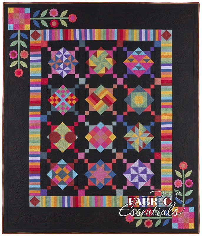 Amish With A Twist I BOM Quilt - Queen or King!