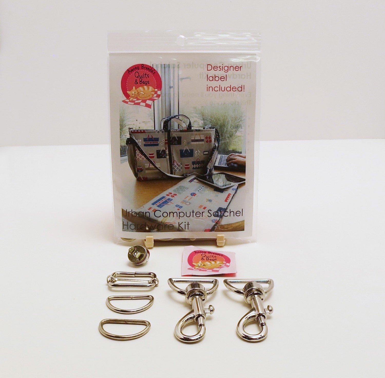 Urban Computer Satchel Hardware Kit - Nickel - ABQ-184HN