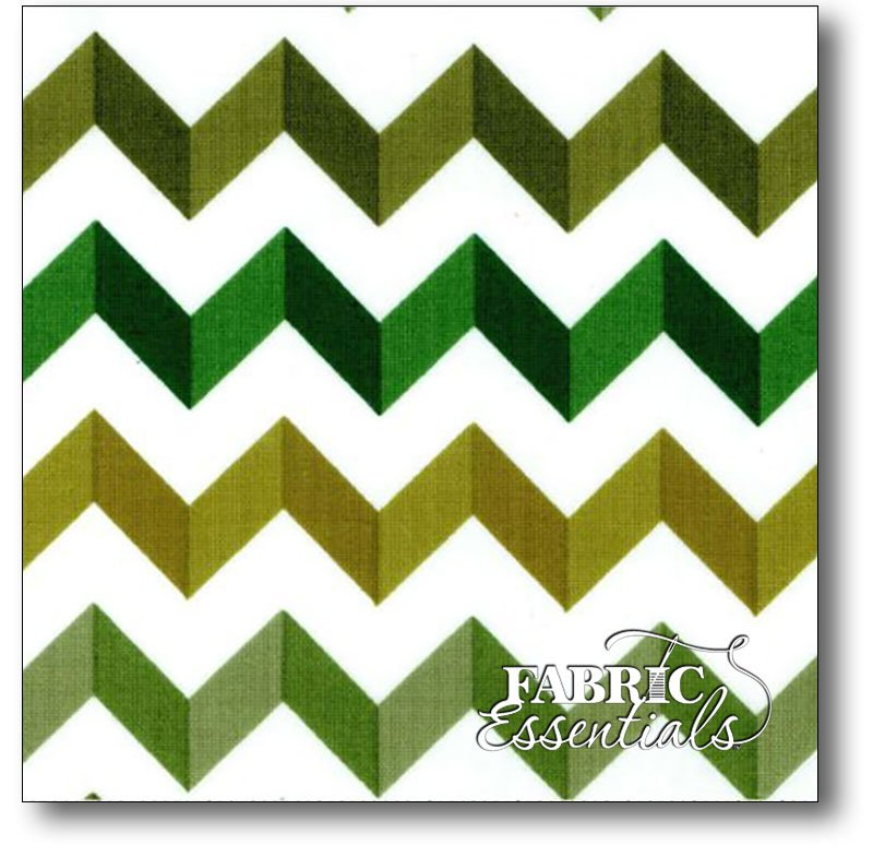 Andover - Crinkle Stripe - A-7493-G Greens