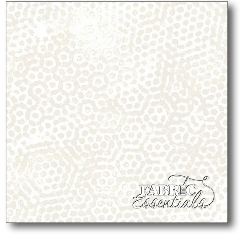 Andover - Dimples - 108in Wide Backing - AW-8408-L Light Cream with Tan Dots