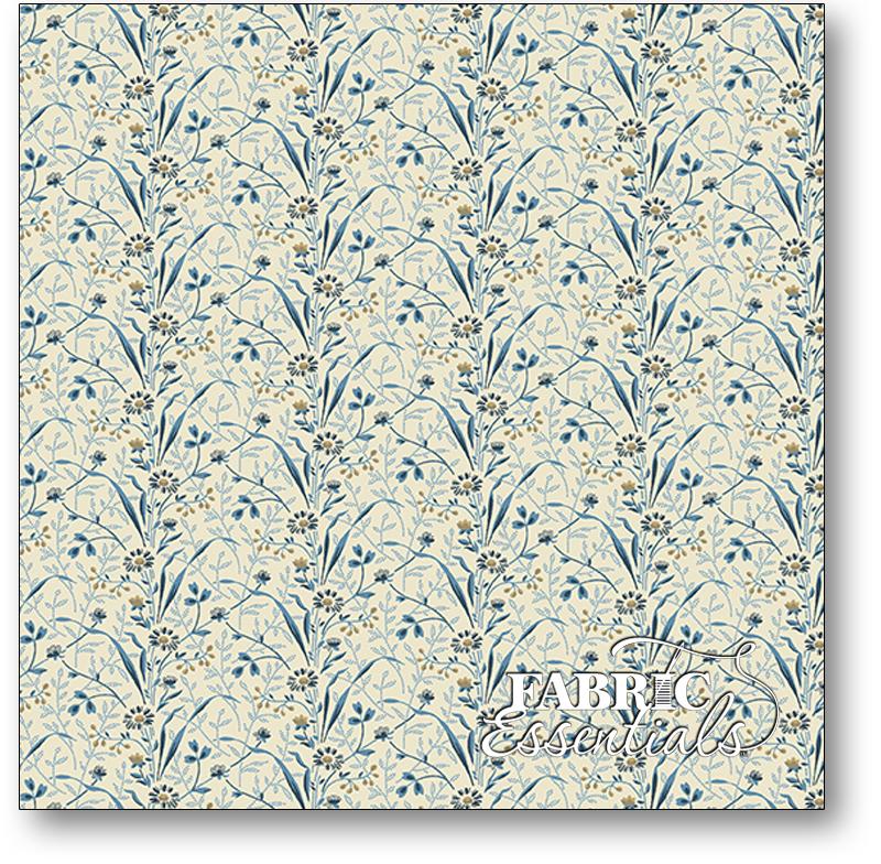 Andover - Edyta Sitar - Laundry Basket Quilts - Blue Sky - A-8508-B - Canopy - Brisk