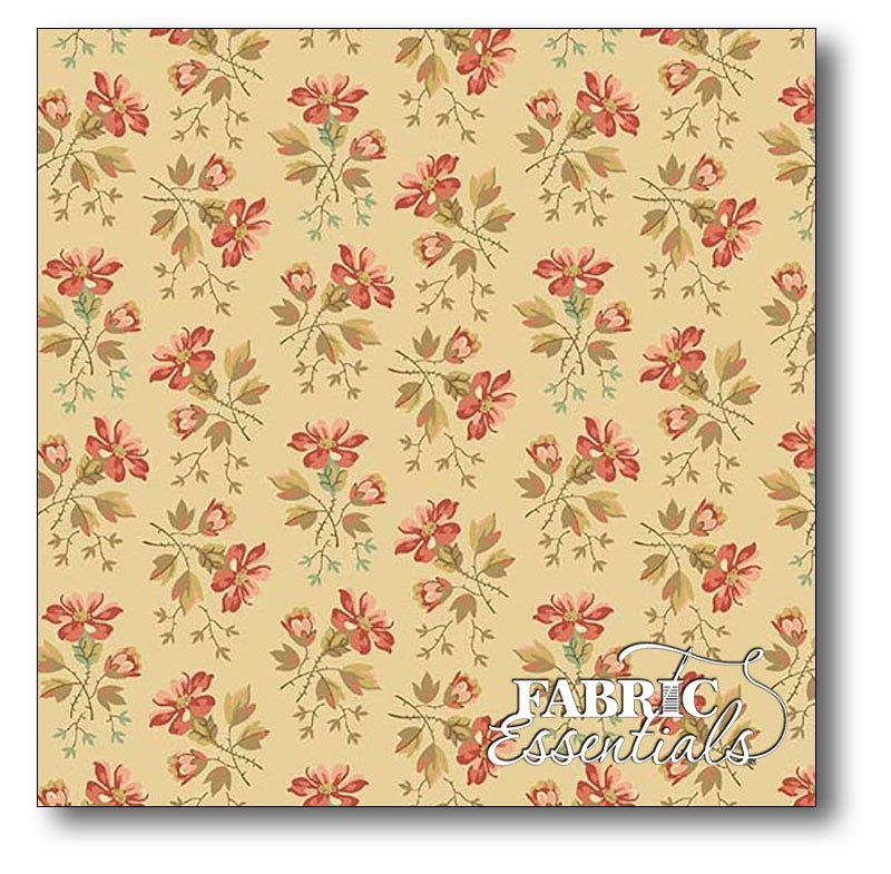 Andover - Edyta Sitar - Laundry Basket Quilts - Crystal Farm - A-8615-L - Wildflower - Oats - OUT OF STOCK