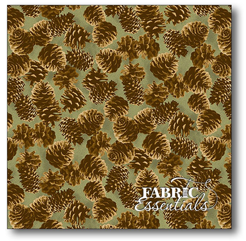 Andover - Kathy Hall - Majestic Woods - Pinecones - A-8244-G