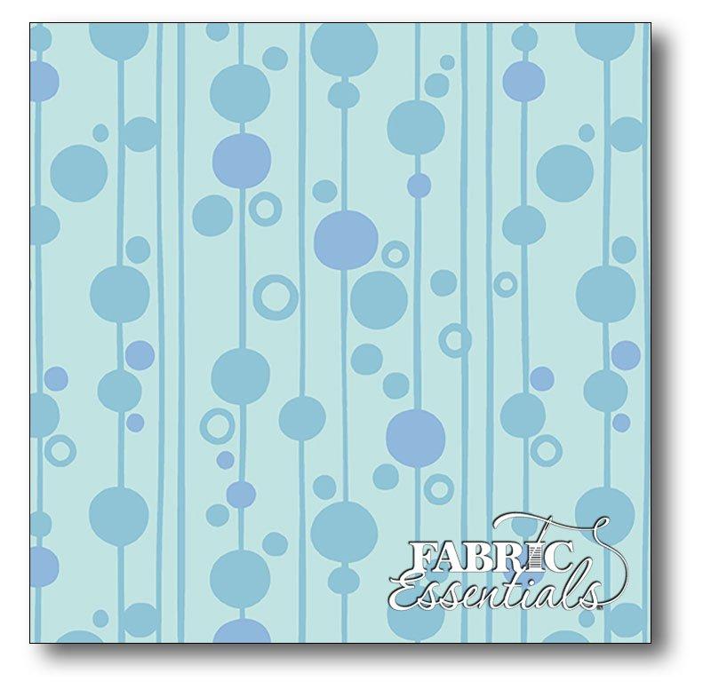 Andover - Kim Schaefer - Uptown - Bubbles - A-8667-B Blue