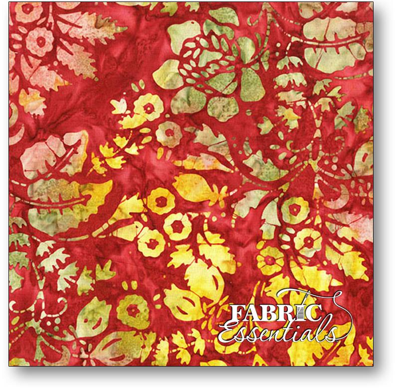 Andover - Laundry Basket Quits - A Splash of Color Batiks - AB-8594-P Orchid Secret Garden