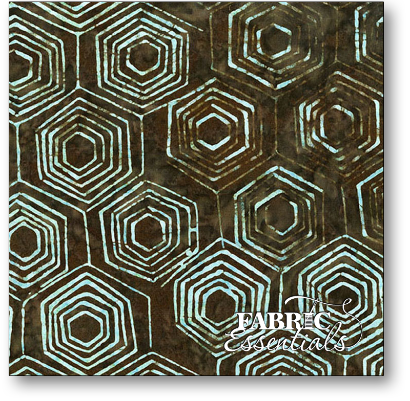 Andover - Laundry Basket Quits - A Splash of Color Batiks - AB-8597-K Outer Space Honeycomb