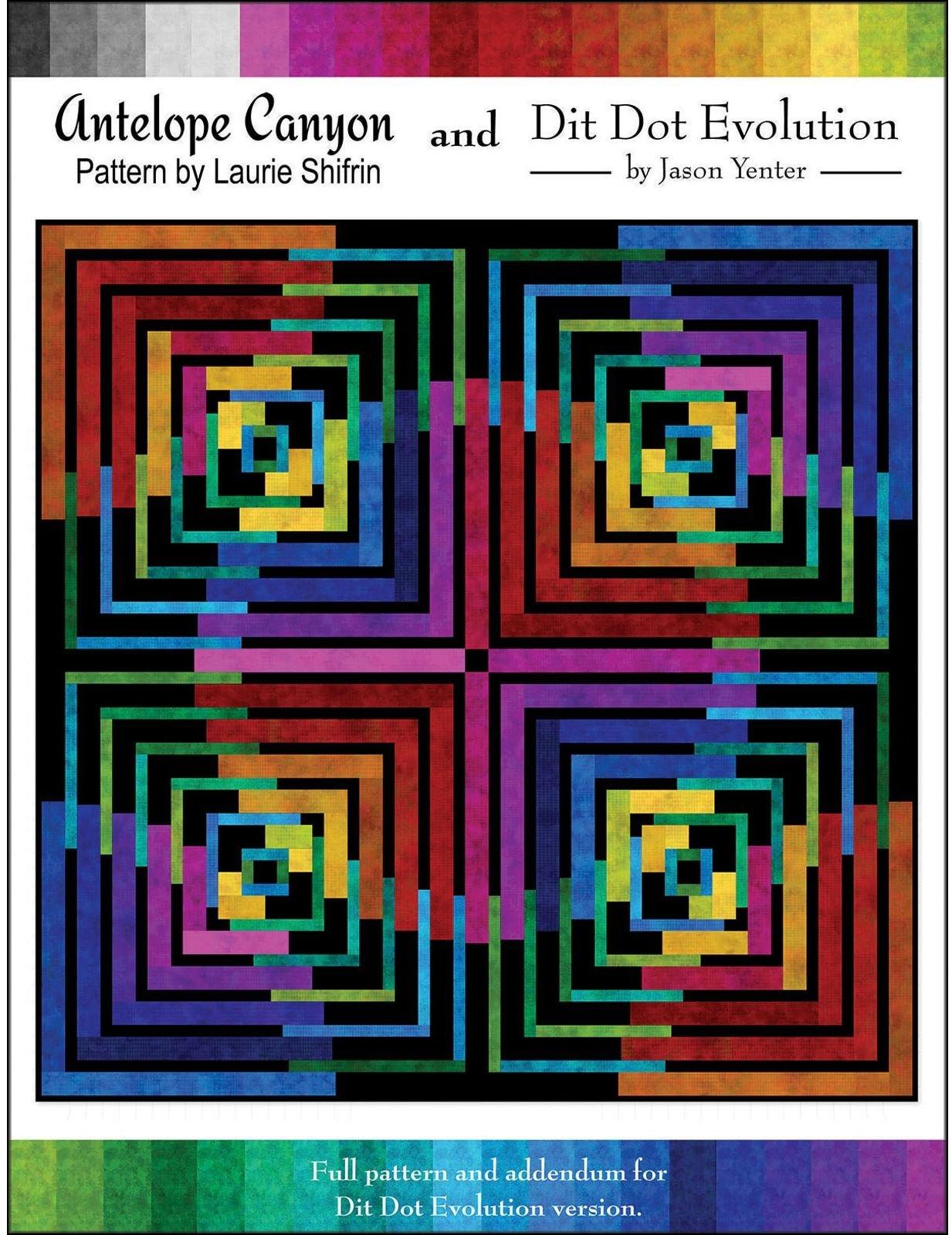 Antelope Canyon - Dit Dot Evolution Pattern - LSDDDEAC